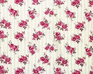 ruusuraidat puuvillakangas