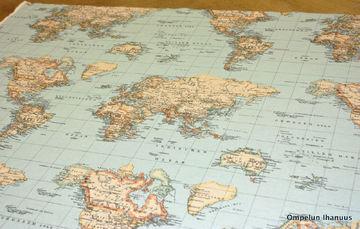 puuvillasekoitekangas kartta