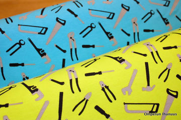trikookangas työkalut