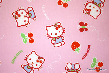 hello kitty puuvillakangas