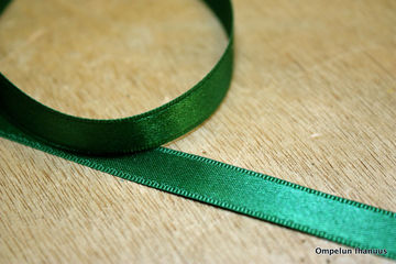 Satiininauha-vihrea