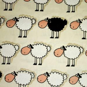 puuvillakangas lampaat
