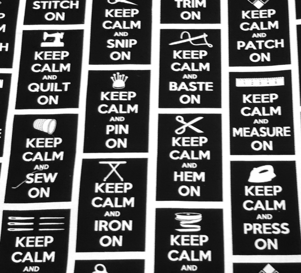 keep calm mustavalko